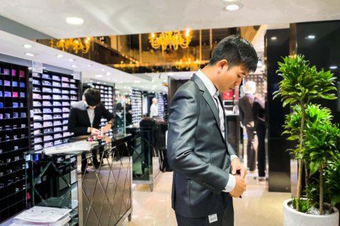 【台北】西門町訂做西裝推薦!CP值超高的GEM AMG男仕西服   台灣在地連鎖品牌 量身訂做