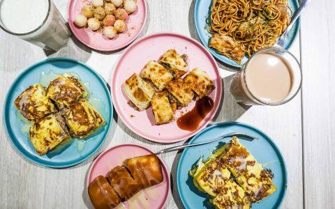 【台北公館早午餐推薦】安好食 一次告訴你必點的銅板美食  日式炒麵、法式吐司、巧克粒粒等異國風味早餐|三八旅客