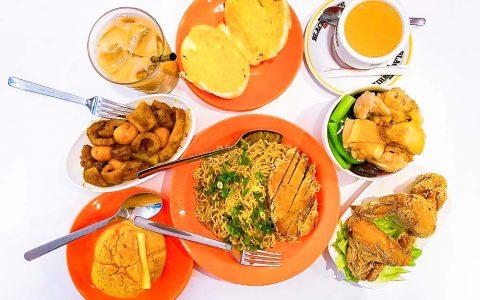 【台北西門町港式料理推薦】大茶飯港式餐廳  全台第一的港式快餐店,任選平價好吃的菠蘿包、公仔麵、絲襪奶茶|三八旅客