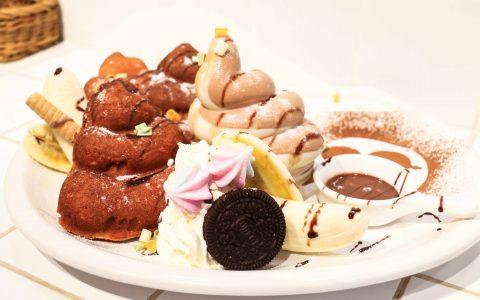 【台北士林下午茶餐廳推薦】便所主題餐廳 創意便便造型餐點及鬆餅 好友聚餐首選餐廳|三八旅客
