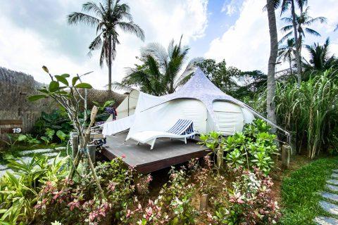 【菲律賓愛妮島】人到就好!懶人豪華露營 Nacpan Beach Glamping 兩天一夜含交通接駁、出海浮潛、篝火晚會、自助早晚餐、DIY手做課程|三八旅客