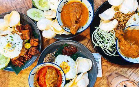 【吉隆坡在地美食推薦】Luckin Kopi  茨廠街平價版的大馬風味餐廳,必點椰漿飯、Indo Mee 絕對是好友聚餐首選地|三八旅客