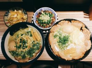 台北金沢拉麵必吃料理