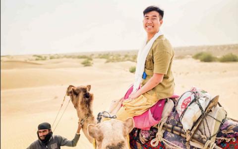 【印度賈沙梅爾】黃金之城 Jaisalmer騎駱駝、睡沙漠體驗兩天一夜,交通、店家推薦、費用全攻略  一覽滿天星斗絕無遺憾|三八旅客