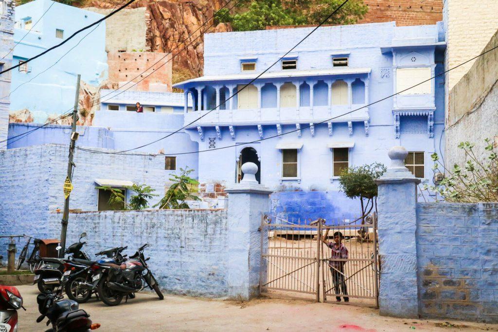 藍城內的房子