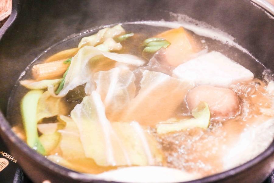 樺饌蔬菜昆布鍋