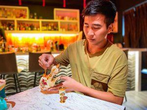 台北瑰秘餐酒館品酒