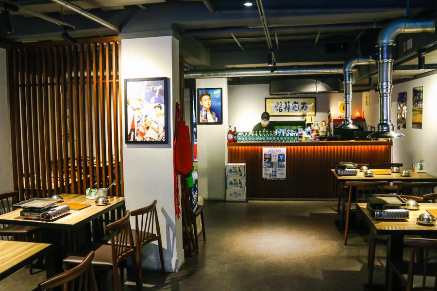 男宅韓館用餐環境
