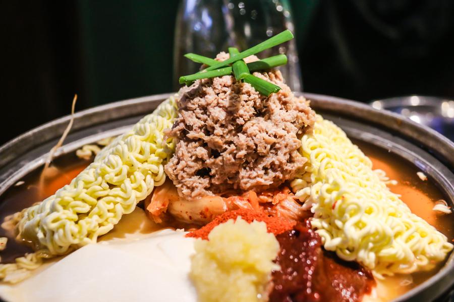 男宅韓館鮪魚鍋