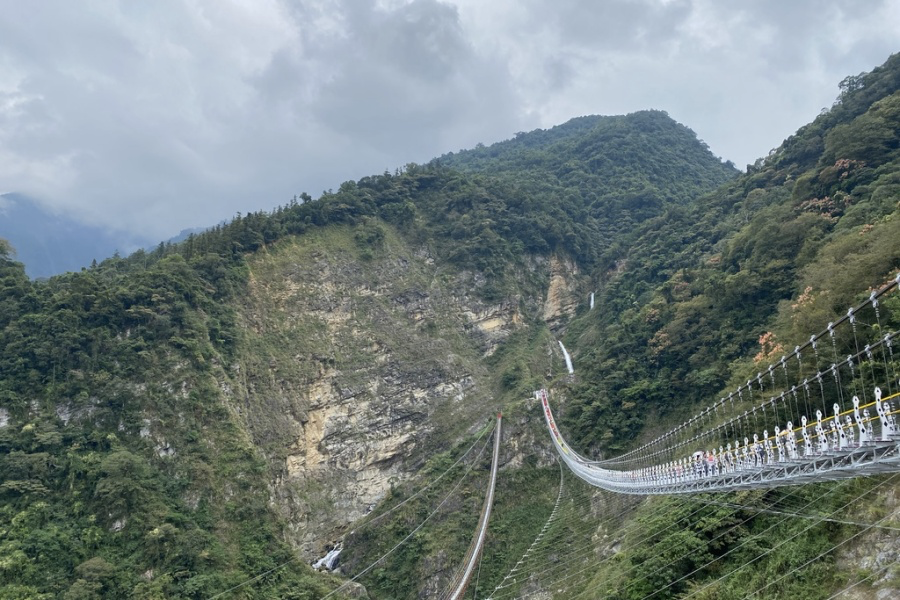 021雙龍部落攻略:雙龍七彩吊橋交通全攻略:接駁車、客運、火車