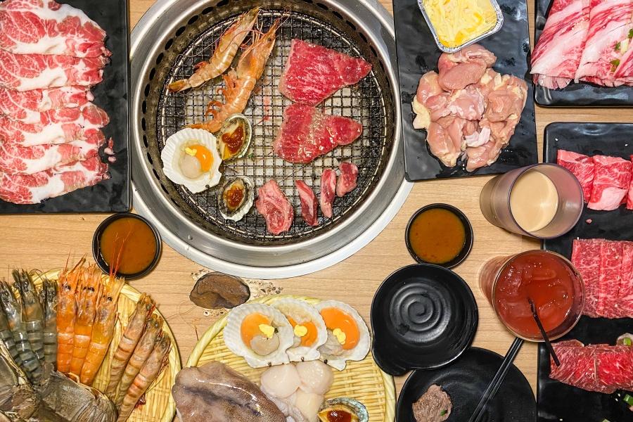 【板橋】2021吃到飽烤肉餐廳推薦「燒肉-殿」澎湃海鮮、頂級和牛、好吃麻糬全都任你挑!小資族、大學生最愛的燒肉餐廳(附菜單)